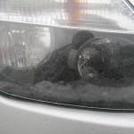 Angelaufene Scheinwerfer beim Dacia Duster
