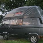 Ein schmucker Campervan...