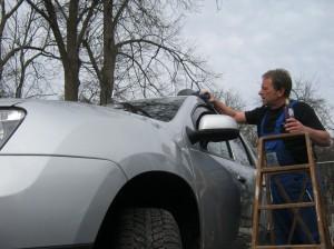 Arbeit als Autopfleger...