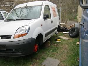 Bremsanlage reparieren. Renault
