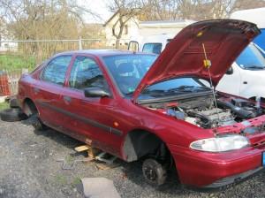 Bremsanlage reparieren Ford