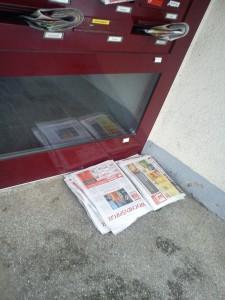 Nebenjob Zeitung austragen